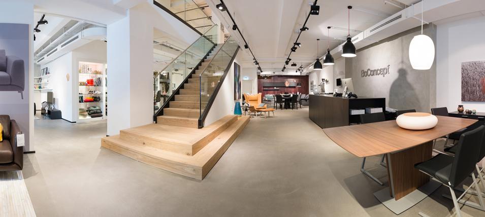 BoConcept Möbelladen: Fabritius Architekten Frankfurt am Main